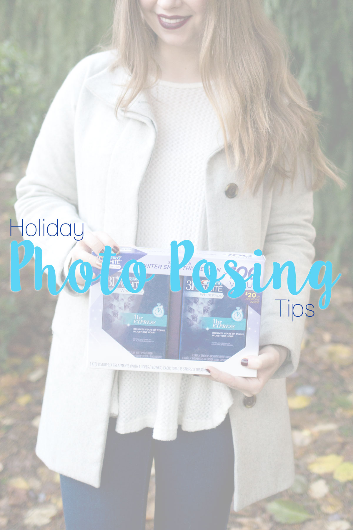 Holiday Photo Posing Tips with Crest WhiteStrips // hellorigby.com seattle fashion & beauty blog