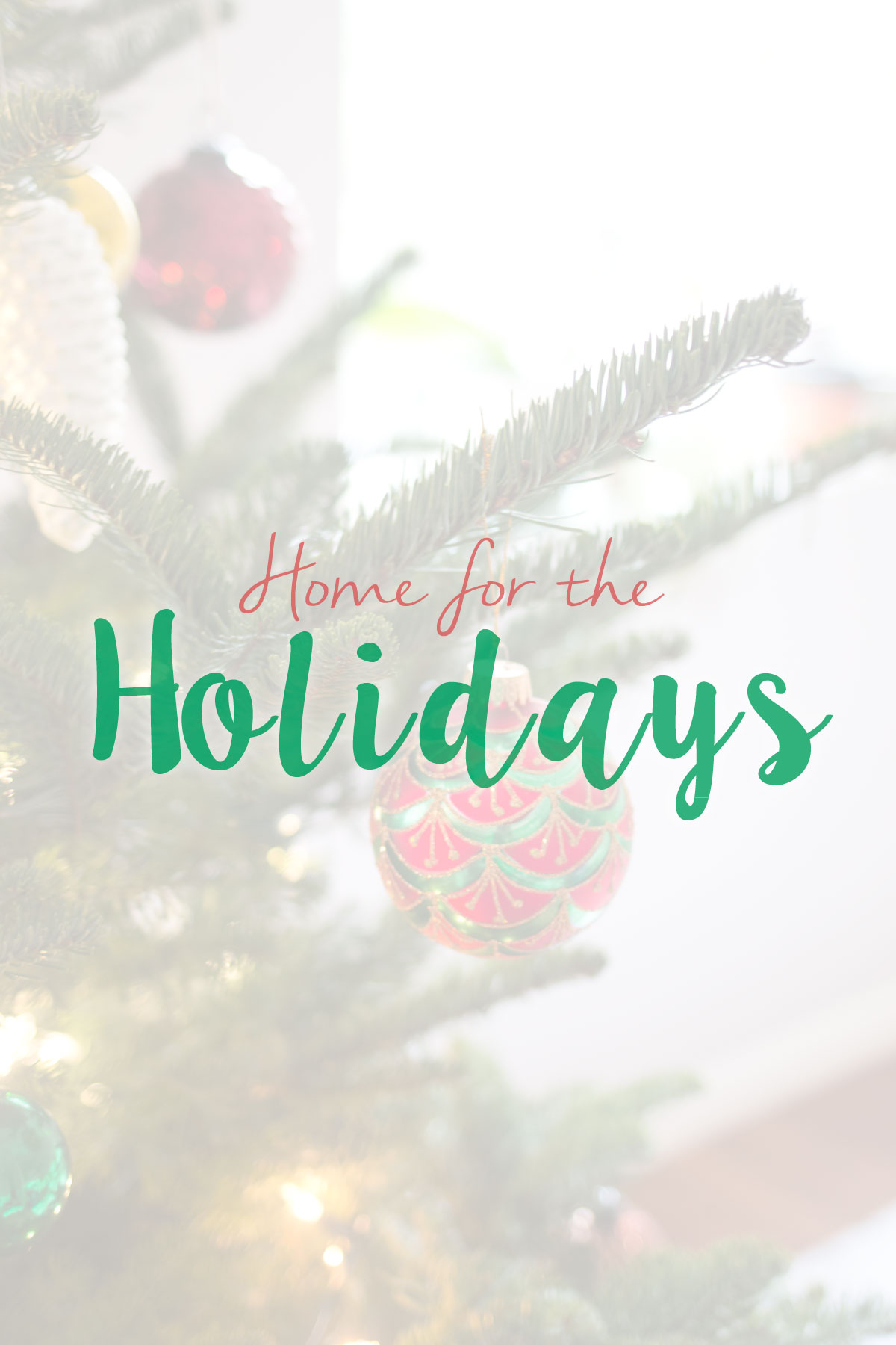 Home for the Holidays: Modern Christmas Decor // hellorigby seattle lifestyle & home decor blog