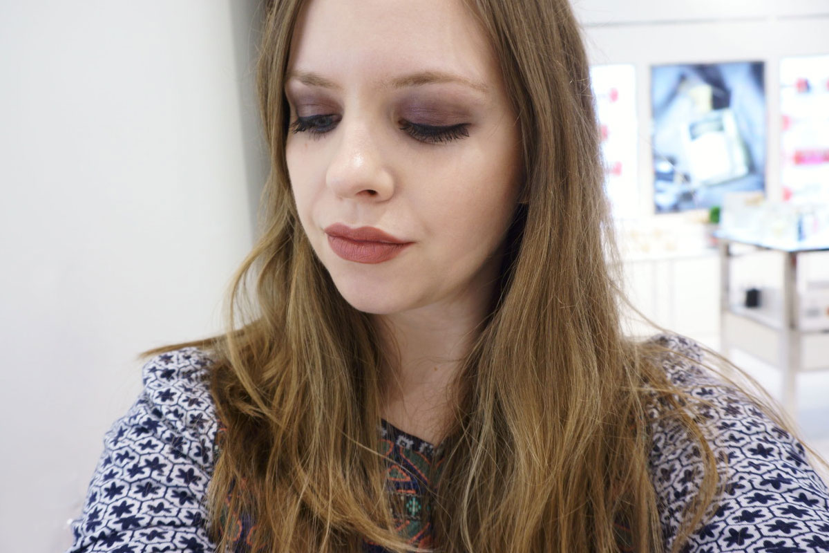 Mulberry Smokey Eye with Burberry Beauty at Nordstrom Seattle // hellorigby.com seattle beauty blog