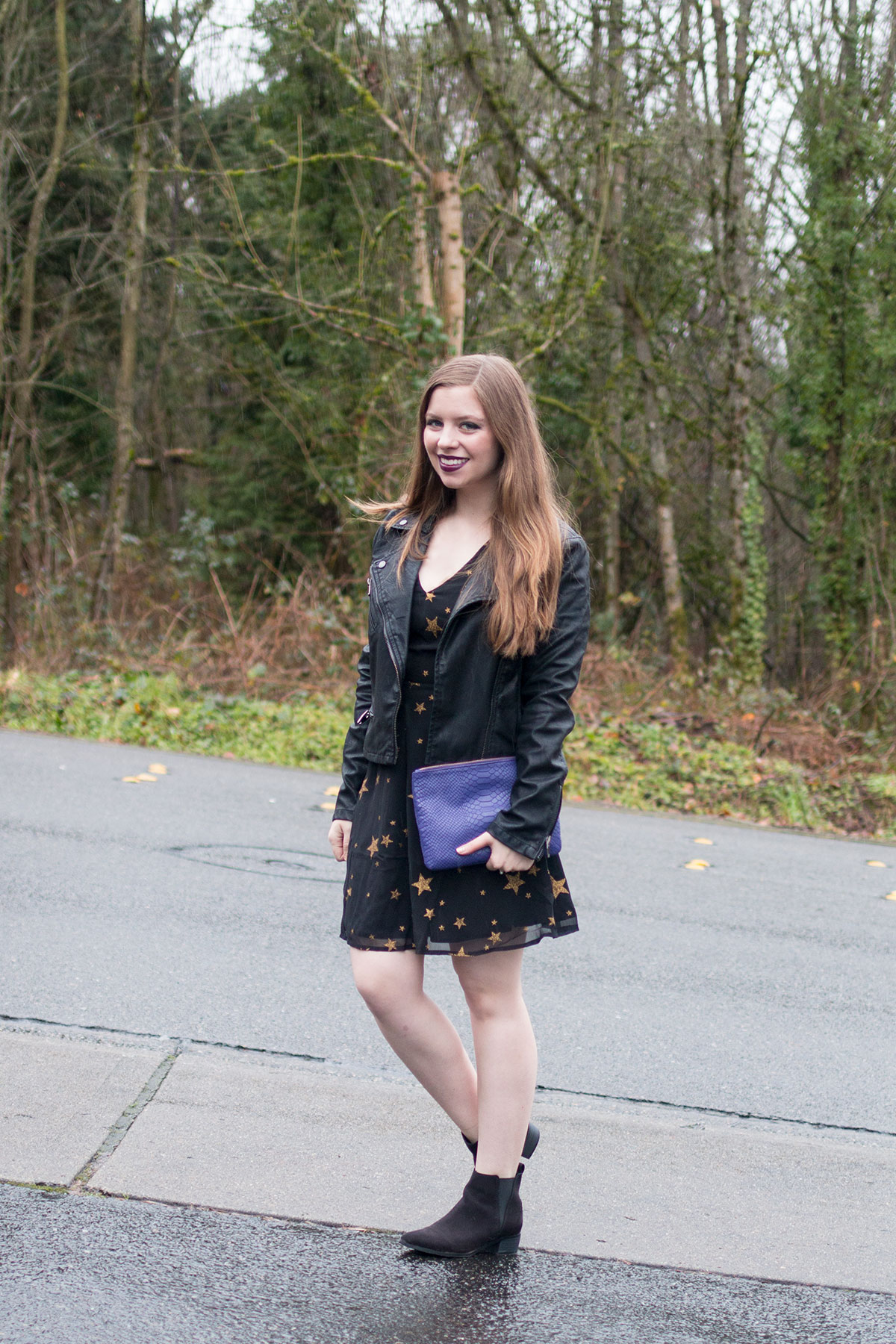 New Year Outfit Ideas: Casual ASOS Star Dress // hellorigby seattle fashion & beauty blog