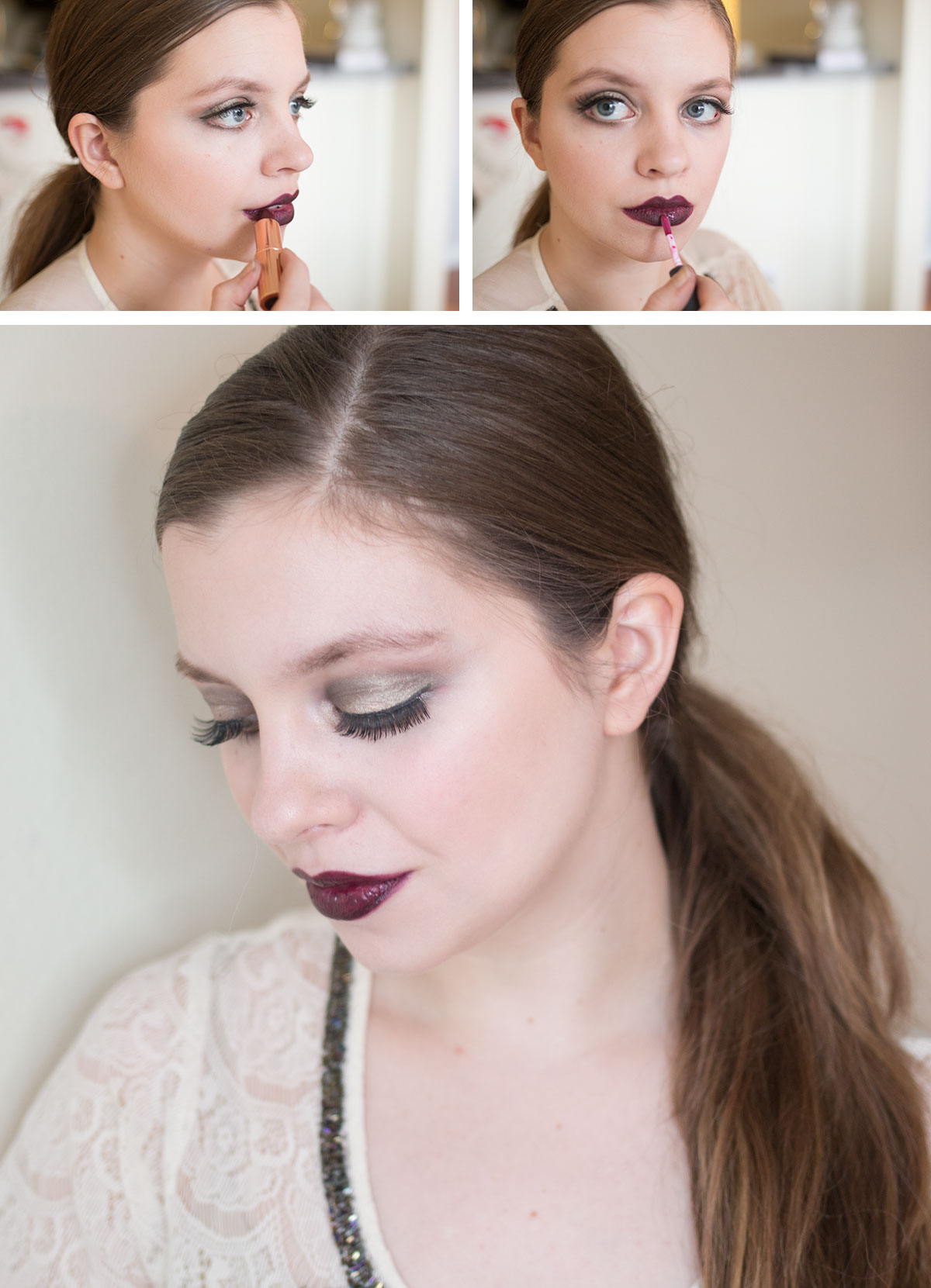 New Years Eve Makeup Tutorial: Step 3 // hellorigby.com seattle fashion & beauty blog