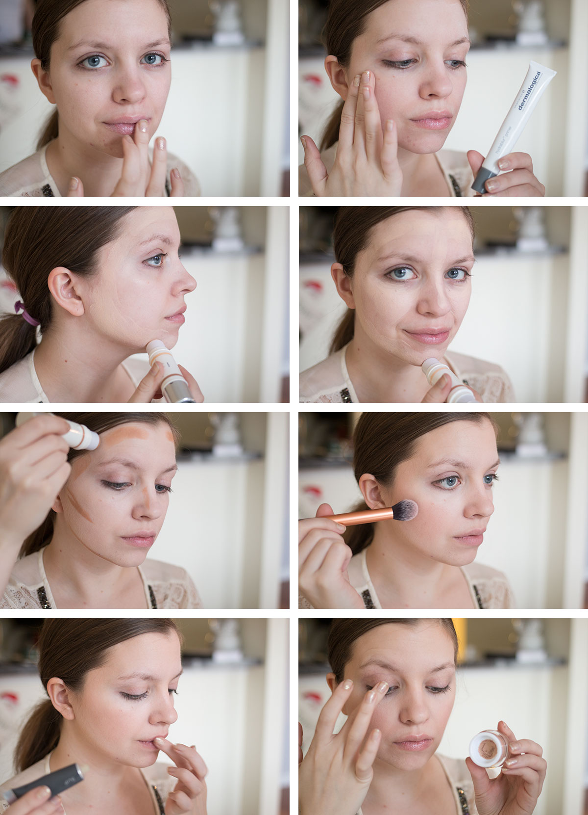 New Years Eve Makeup Tutorial: Step One // hellorigby.com seattle fashion & beauty blog