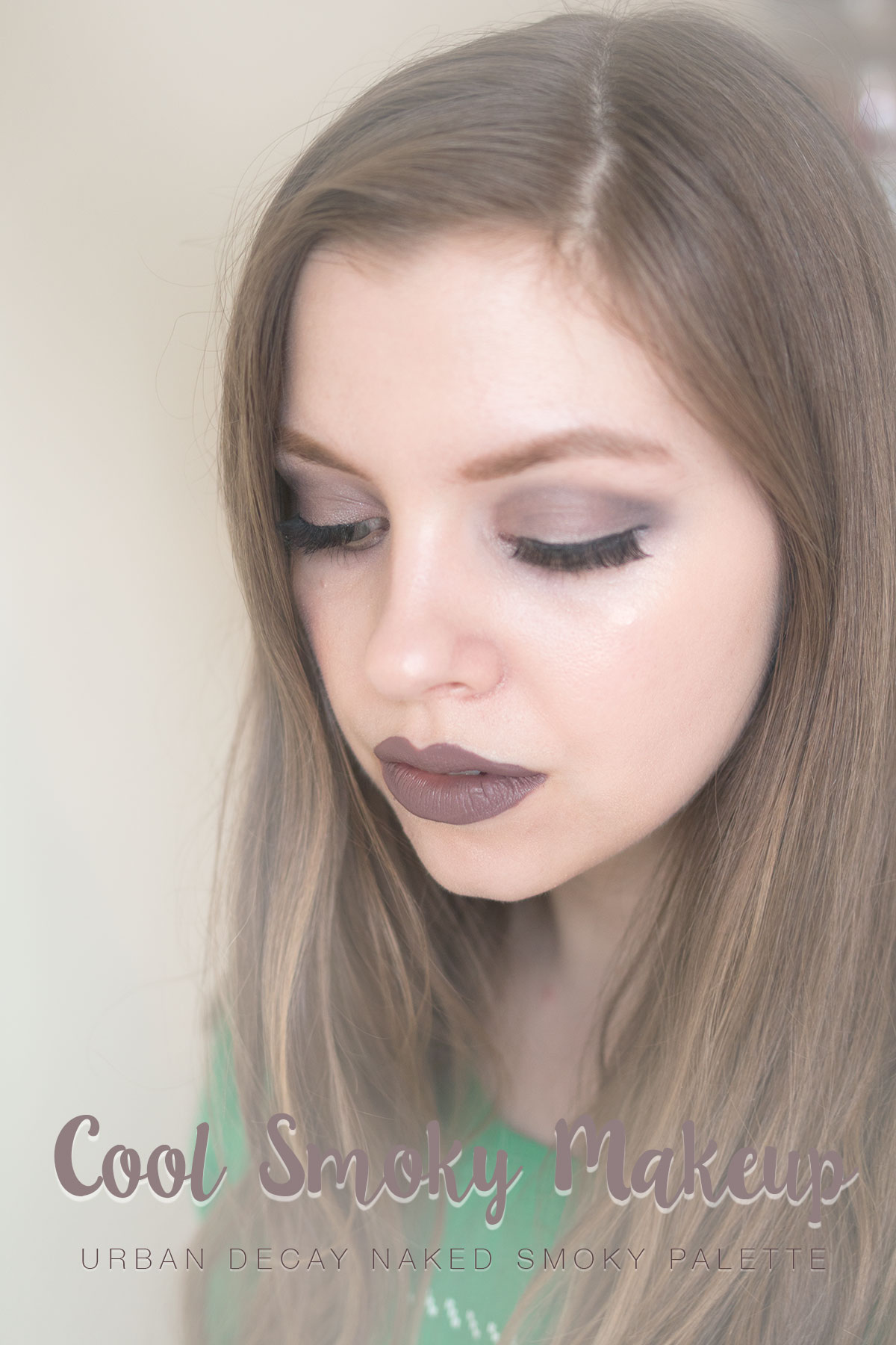Urban Decay Naked Smoky Palette Tutorial: Cool Smoky Eye & Gray Lip // hellorigby seattle fashion & beauty blog