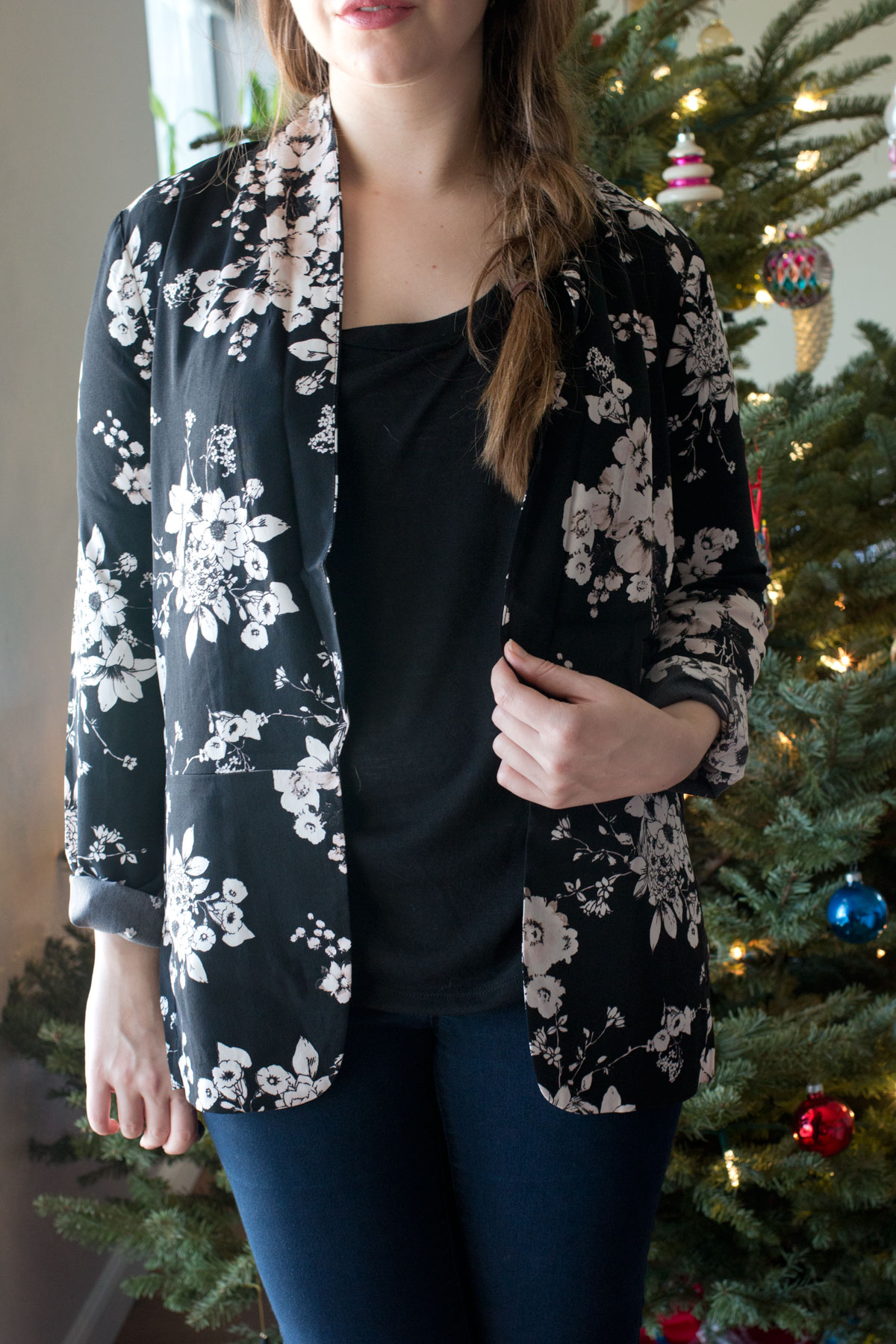 Nordstrom Half Yearly Sale 2015: ASTR Floral Print Blazer // hellorigby seattle fashion & beauty blog
