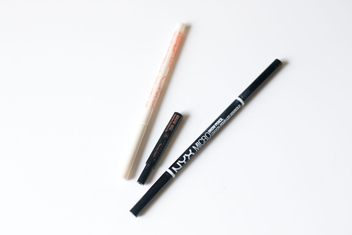 Beauty Dupes & Duds: Best of 2015 // Anastasia Beverly Hills Brow Wiz vs. NYX Micro Brow Pencil vs. Chella Eyebrow Color Pencil // hellorigby.com seattle fashion & beauty blog