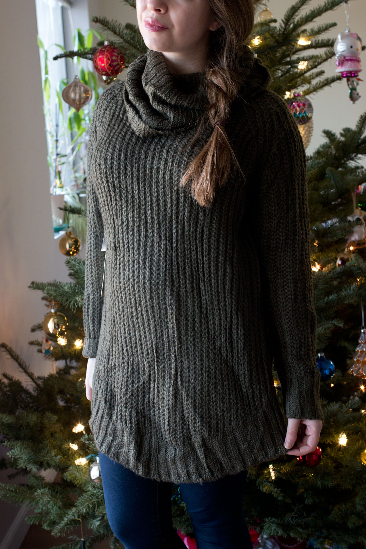 Nordstrom Half Yearly Sale 2015: Dreamers by Debut Cowl Neck Sweater // hellorigby seattle fashion & beauty blog