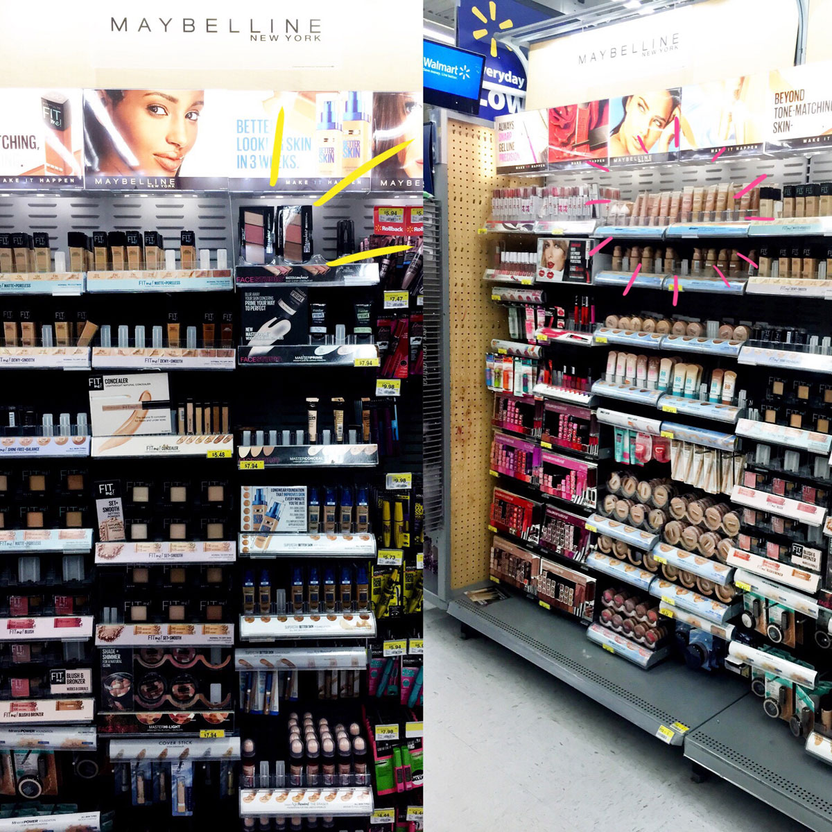 Maybelline Walmart Cosmetics Aisle // Everyday Contour Routine // Hello Rigby Seattle Beauty Blog