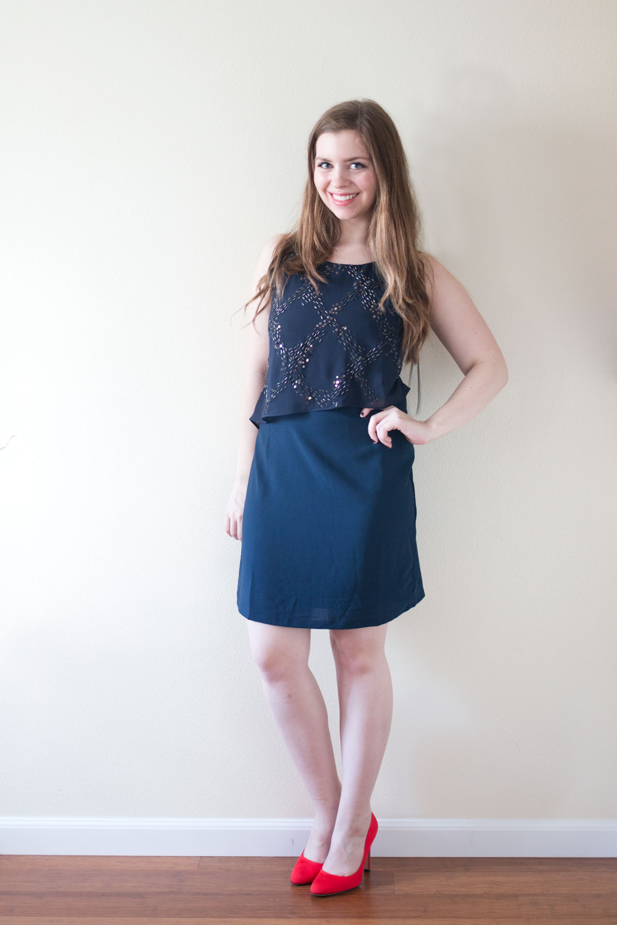 Stitch Fix January 2016: Alice Blue Kathi Dress // hellorigby seattle fashion & style blog