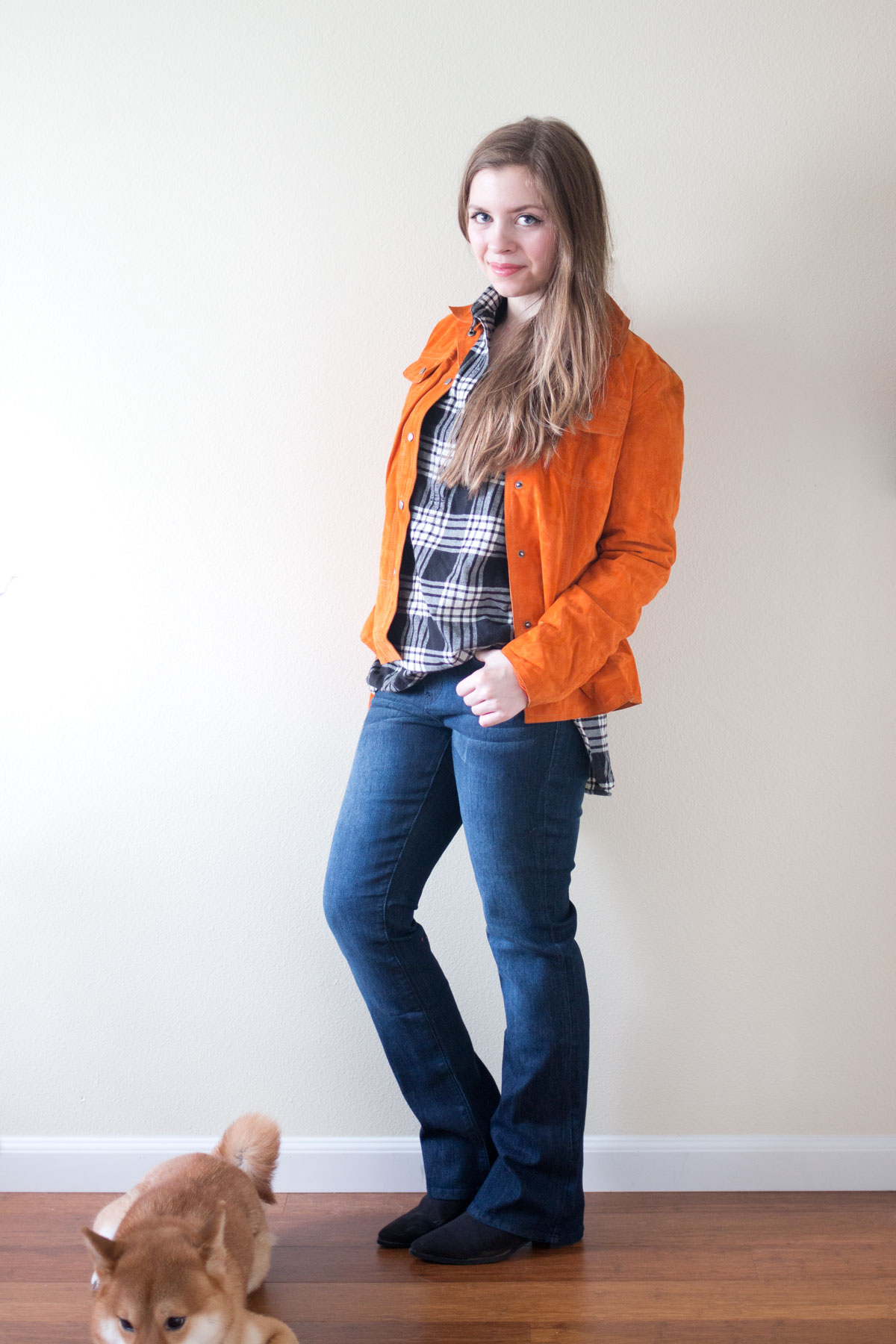 Stitch Fix January 2016: Dear John Macie Bootcut // hellorigby seattle fashion & style blog