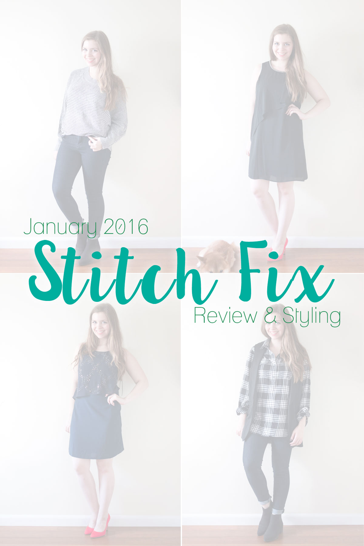 Stitch Fix January 2016: Review & Styling // hellorigby seattle fashion & style blog