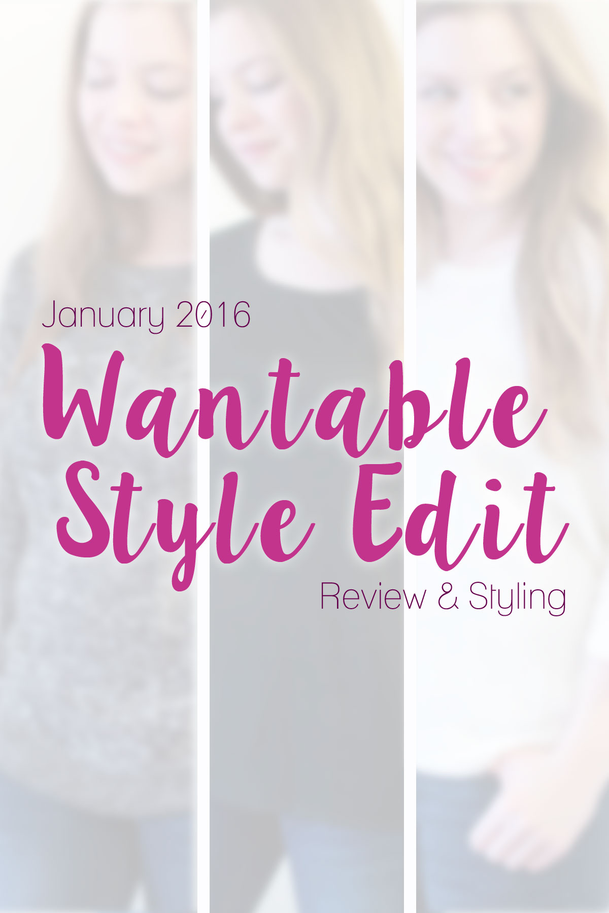 Wantable Style Edit Review: January 2016 // Hello Rigby Seattle Fashion & Style Blog