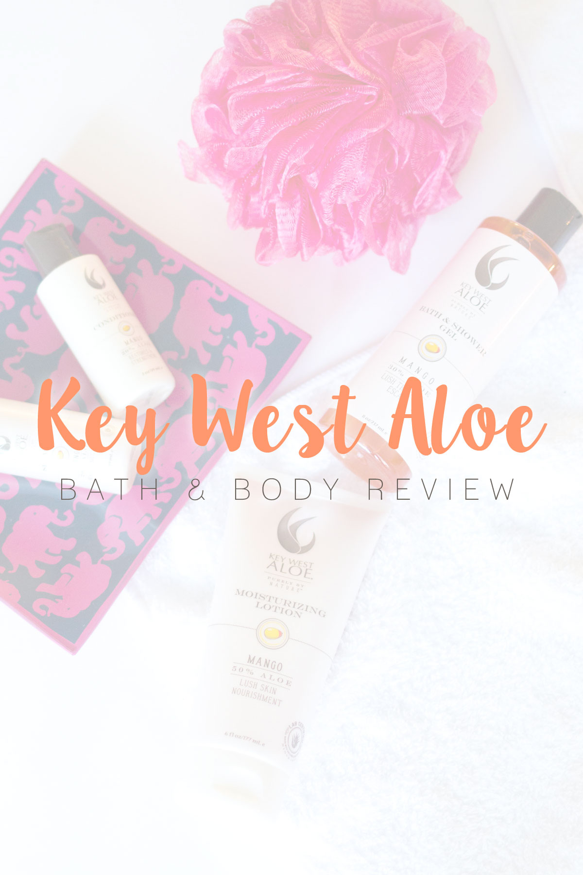Key West Aloe Mango Bath & Body Product Review // Hello Rigby Seattle Beauty & Style Blog
