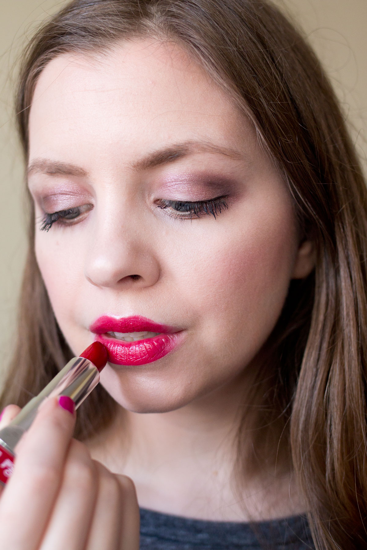 Maybelline Color Sensational LipColor in Red Revival & Swatch // Valentine's Day Makeup Tutorial // Hello Rigby Seattle Beauty Blog