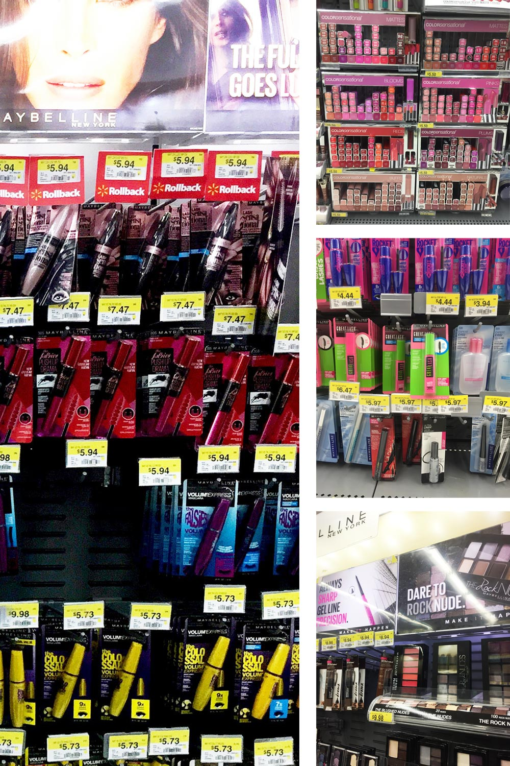 Maybelline Looks to Love Cosmetics at Walmart // Hello Rigby Seattle Beauty Blog
