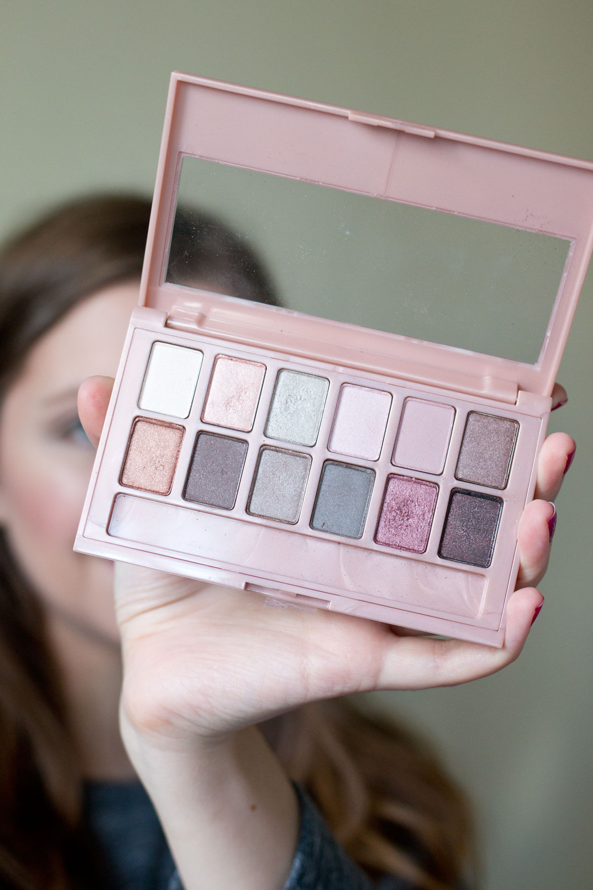 Maybelline The Blushed Nudes Palette Looks to Love // Hello Rigby Seattle Beauty Blog