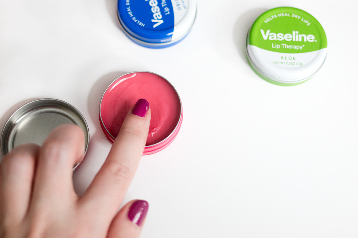 Prevent Dr Lips with Vaseline Lip Therapy Tins // Hello Rigby Seattle Beauty & Style Blog