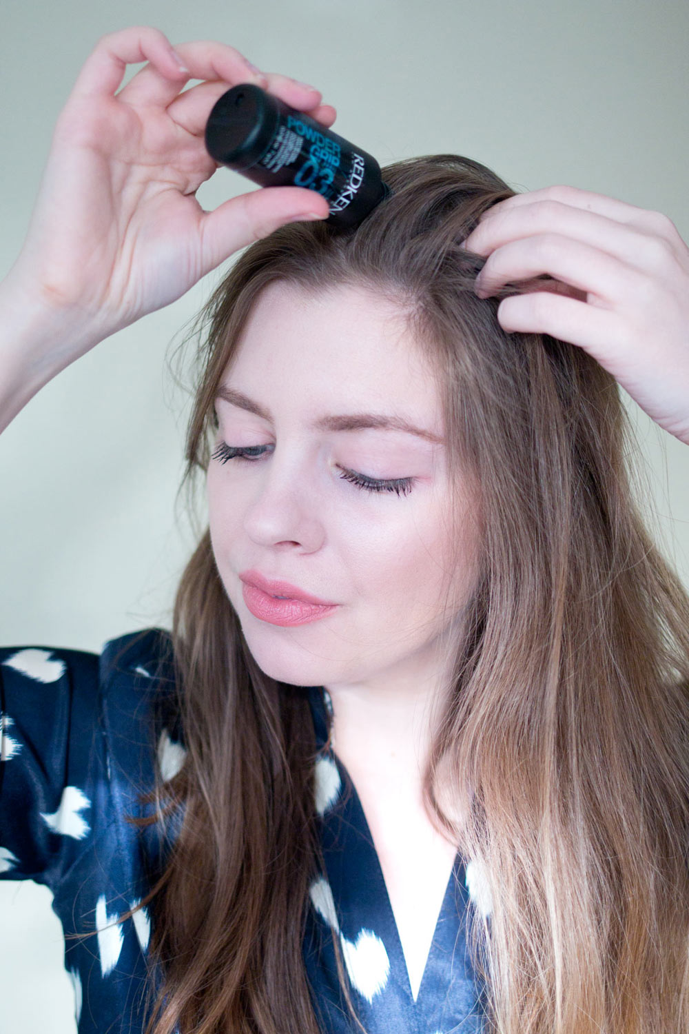 Redken Mattifying Hair Powder Powder Grip Review // Hello RIgby Seattle Beauty & Hair Blog