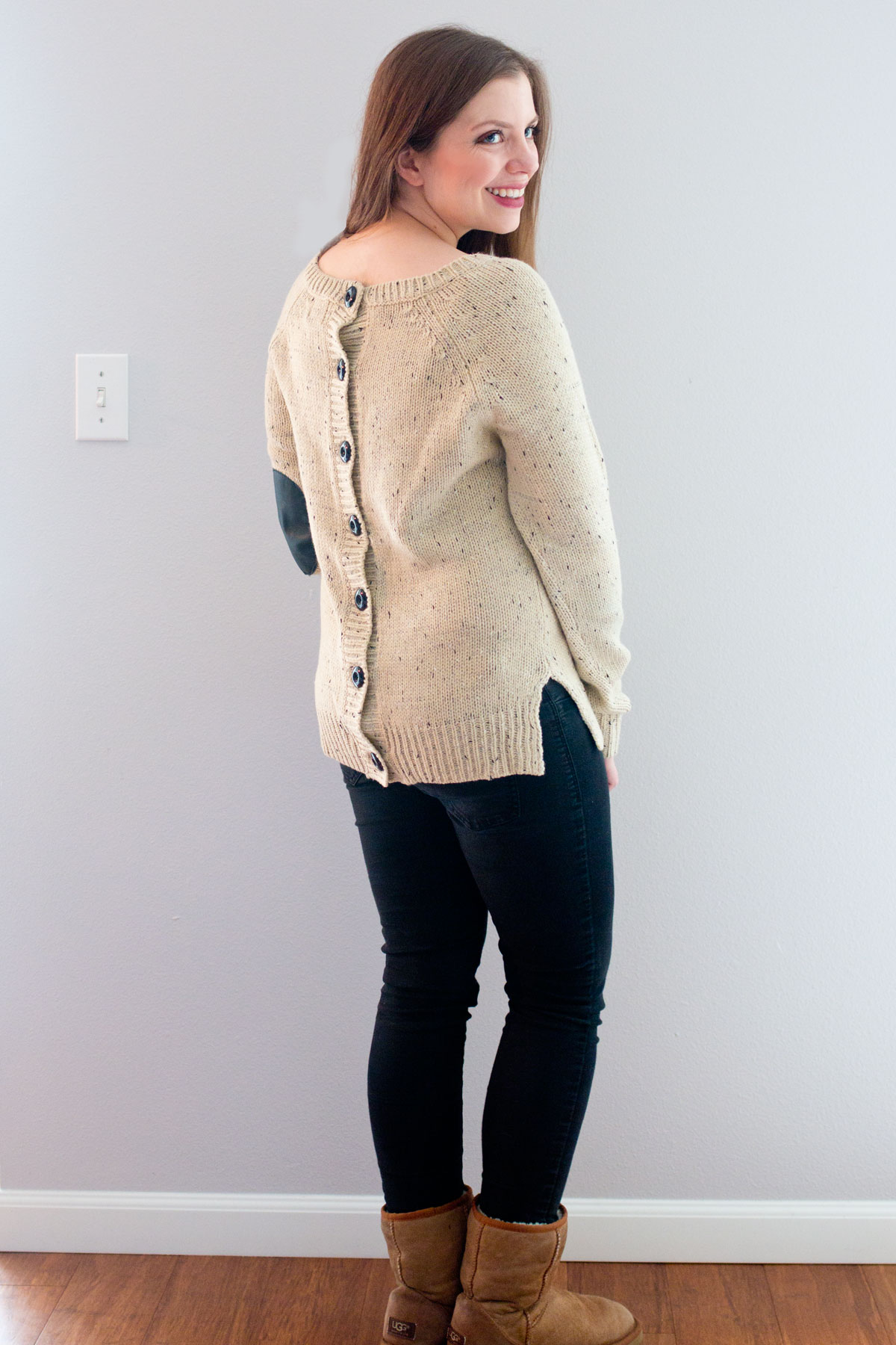 Stitch Fix February 2016 Review // Market & Spruce Cotulla Button Back Sweater // Hello Rigby Seattle Fashion & Style Blog