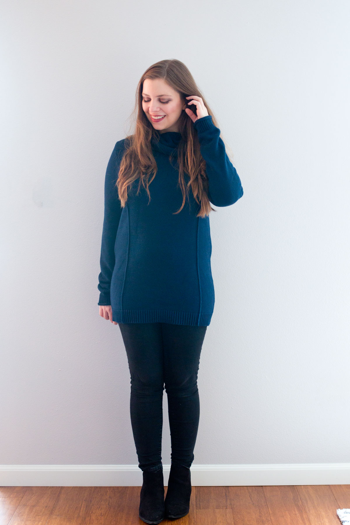 Stitch Fix February 2016 Review // Market & Spruce Janetta Cowl Neck Pullover Sweater // Hello Rigby Seattle Fashion & Style Blog