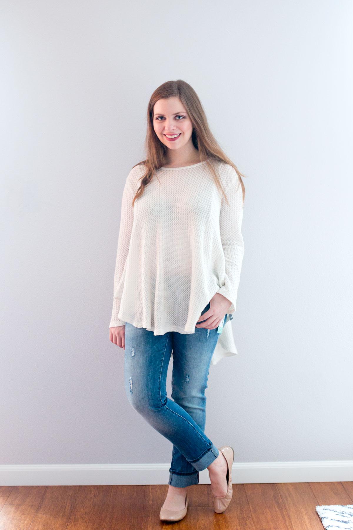 Stitch Fix February 2016 Review // Mavi Angie Skinny Jean // Hello Rigby Seattle Fashion & Style Blog