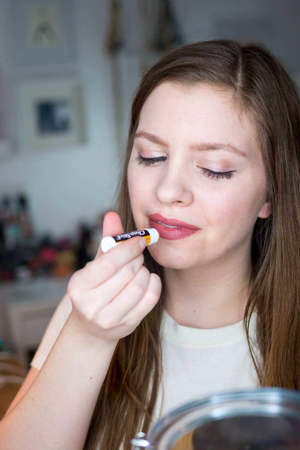Tips for Applying Liquid Lipstick // Apply Lip Balm on Top // Hello Rigby Seattle Beauty & Style Blog