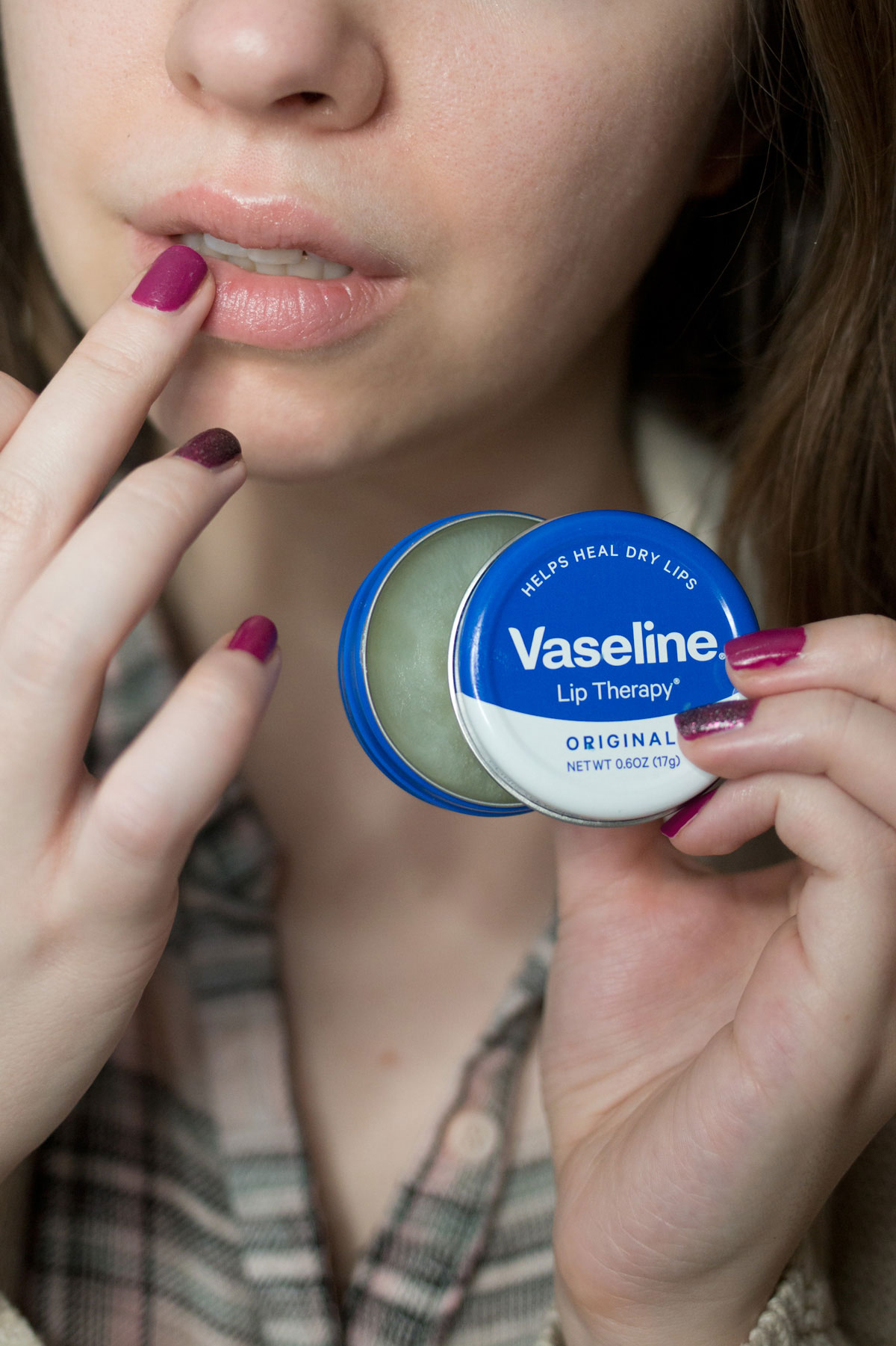 Tips to Prevent Dry Cracked Lips // Vaseline Lip Therapy Tins // Hello Rigby Seattle Beauty & Style Blog