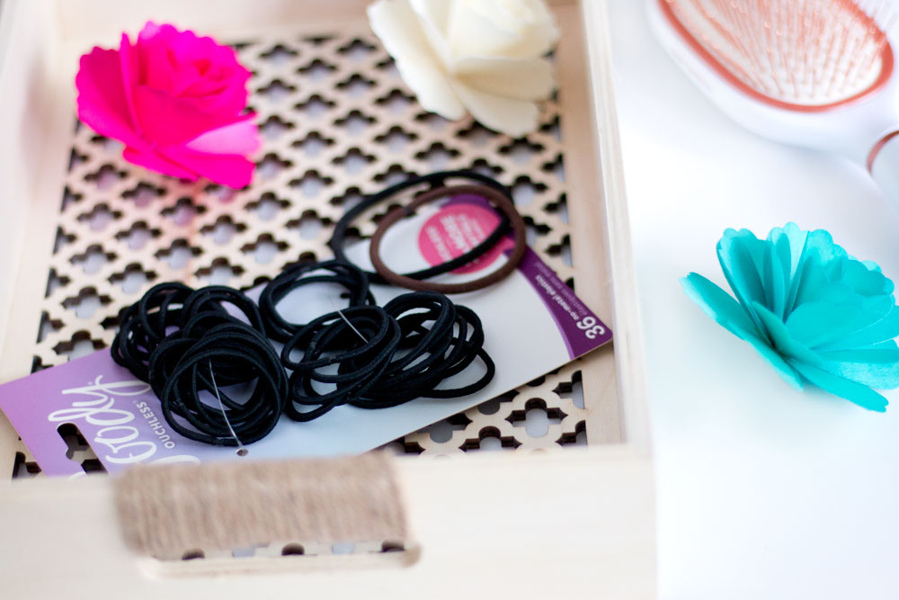 Goody Clean Radiance Hair Brush & Ouchless Elastics // Hair Ideas for Spring // Hello Rigby Seattle Beauty & Style Blog
