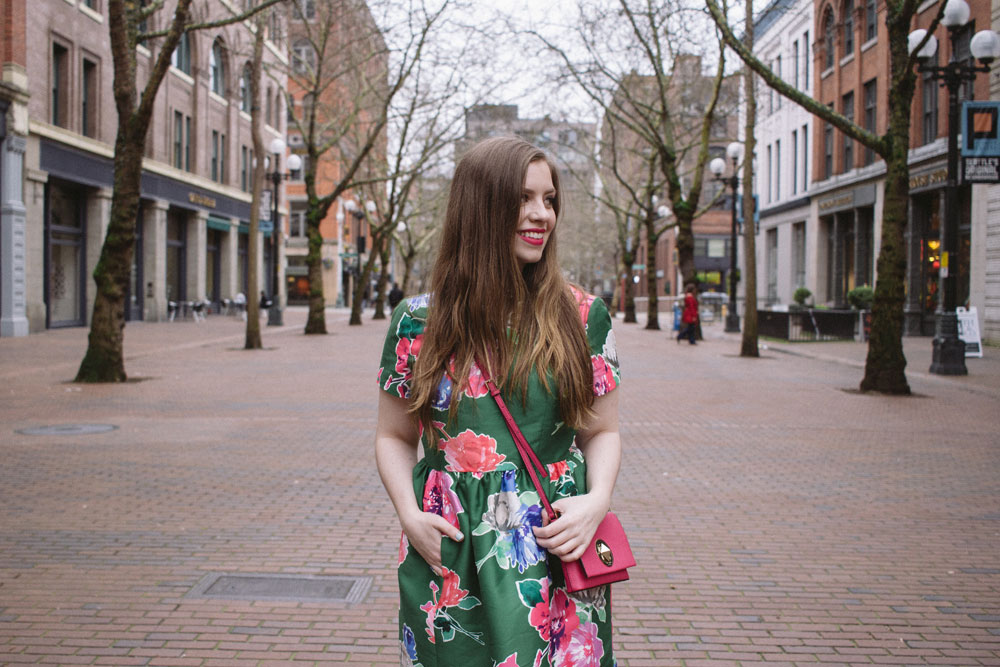 Kate Spade Outfit in Pioneer Square, Seattle // Tips for Outlet Shopping // Hello Rigby Seattle Fashion & Style Blog