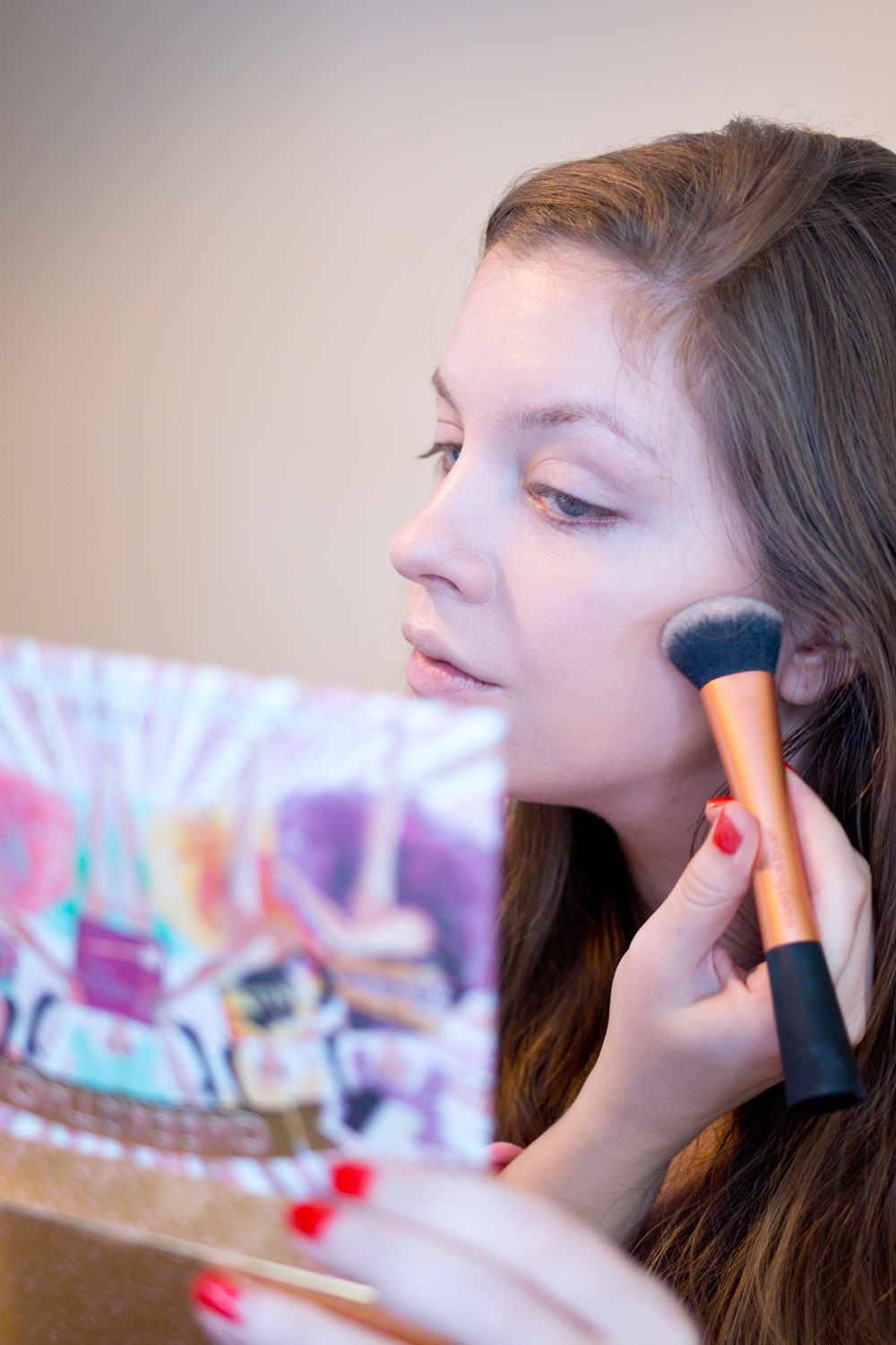 Makeup for Glasses featuring Contouring with Benefit Cheekathon Palette // Hello Rigby Seattle Beauty & Style Blog