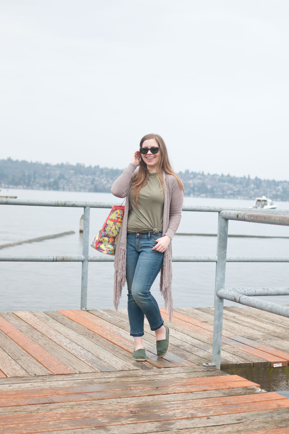 Spring Break Essentials: Casual Travel Outfit // Hello Rigby Seattle Fashion & Style Blog