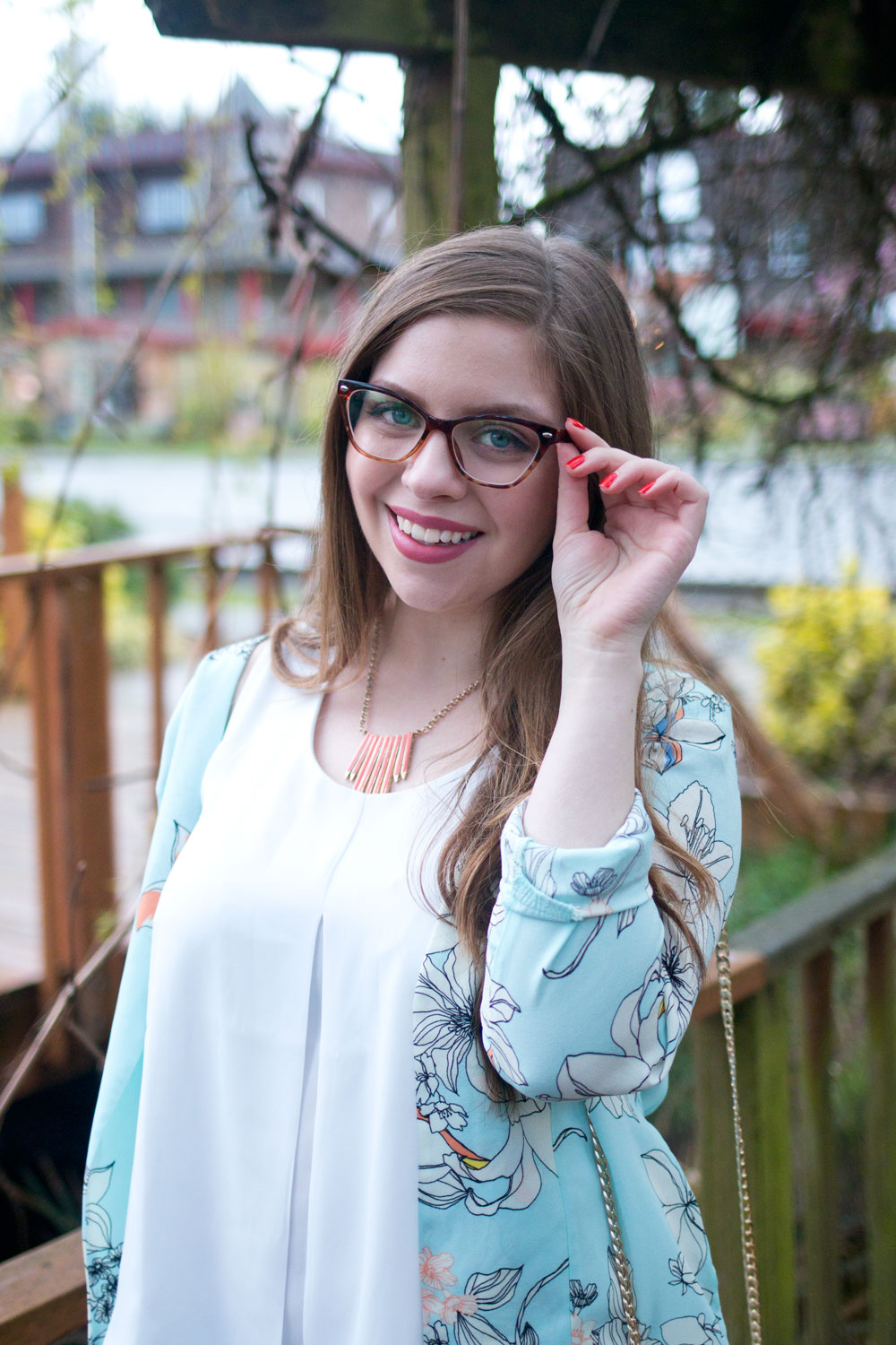 Spring Outfit with Glasses // Hello Rigby Seattle Fashion & Beauty Blog