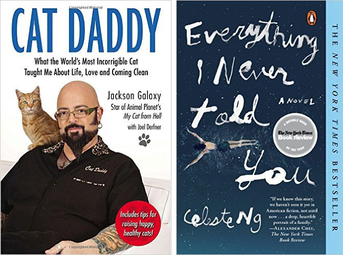 Cat Daddy by Jackson Galaxy and Everything I Never Told You by Celeste Ng Book Reviews // Hello Rigby Seattle Lifestyle Blog