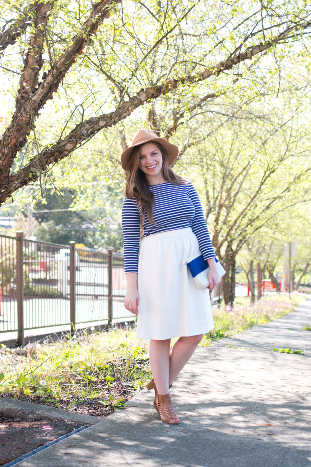 How to Wear a Striped Dress with Skirt // Hello Rigby Seattle Fashion & Style Blog