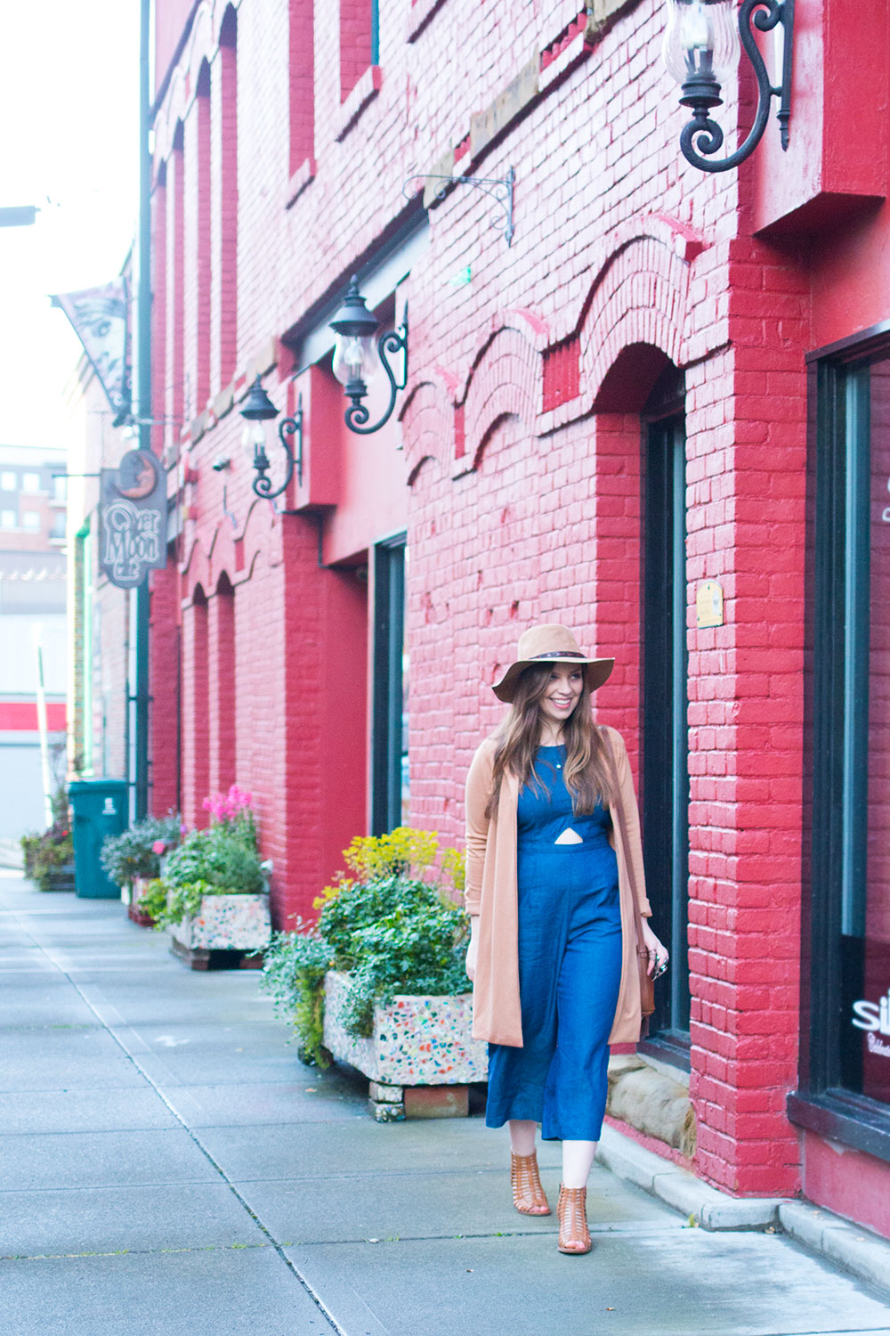 How to Wear Culotte Jumpsuit Outfit for Petite Women // Hello Rigby Seattle Fashion & Style Blog