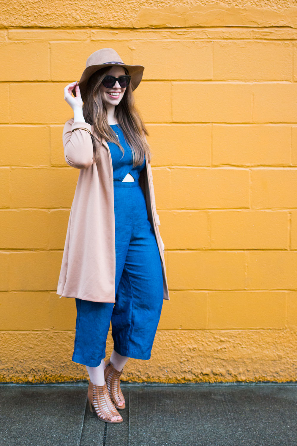 How to Wear a Culotte Jumpsuit Outfit // Hello Rigby Seattle Style & Fashion Blog