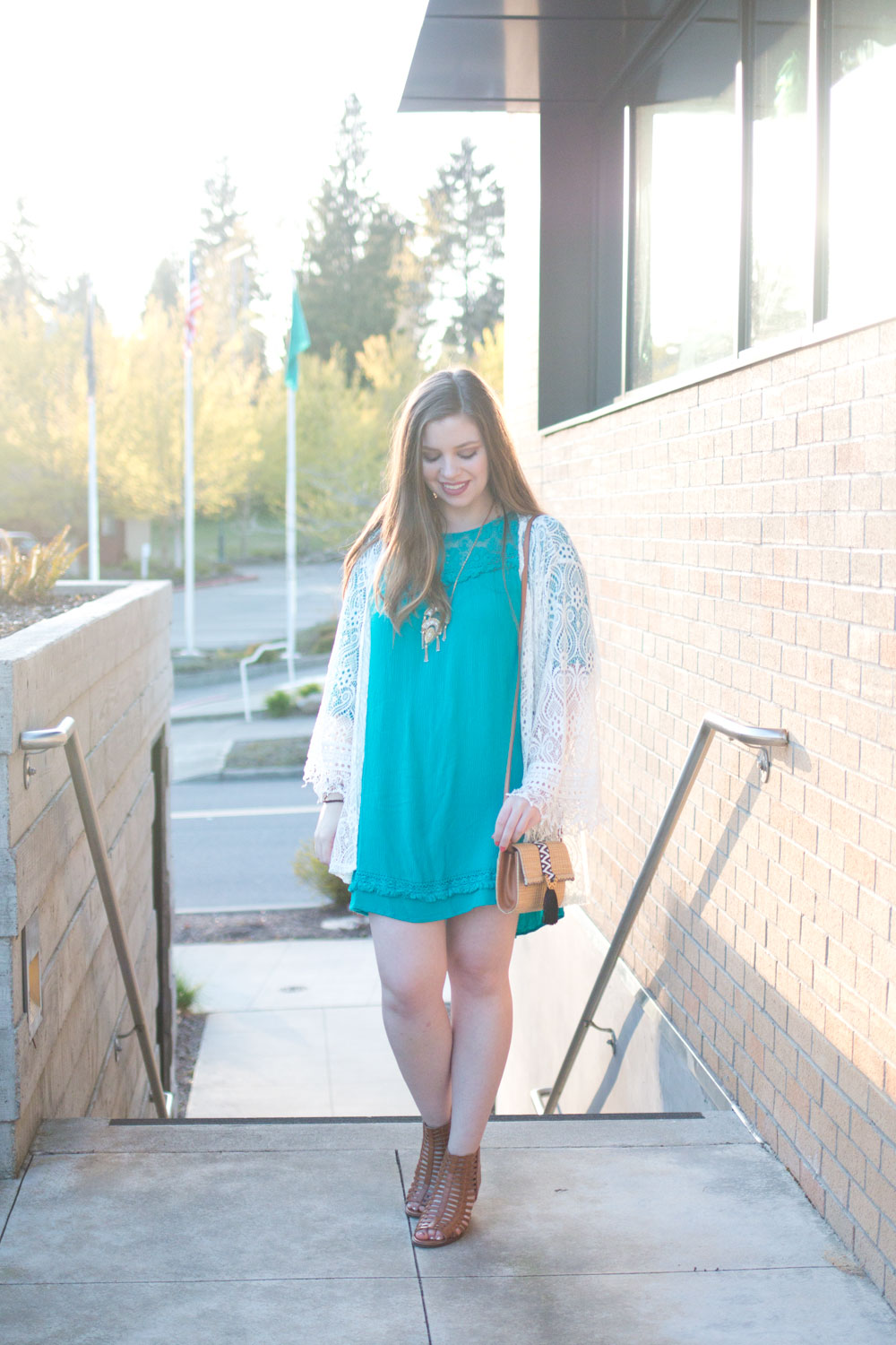 One Dress Three Ways: Bohemian Outfit // Hello Rigby Seattle Fashion & Style Blog