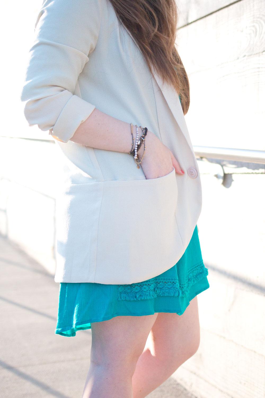 One Dress Three Ways Boyfriend Blazer // Hello Rigby Seattle Fashion & Style Blog
