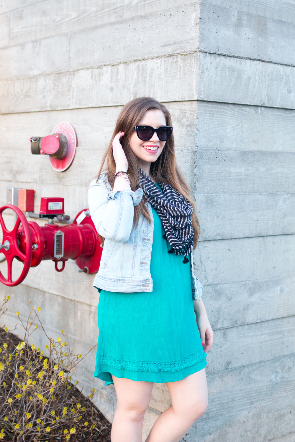 One Dress Three Ways Casual Day Date Outfit // Hello Rigby Seattle Fashion & Style Blog