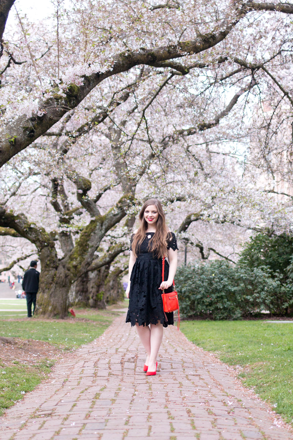 Ways to Wear Your Prom Dress Again featuring Boohoo Lisa Lace Skater Dress // Hello Rigby Seattle Fashion & Style Blog