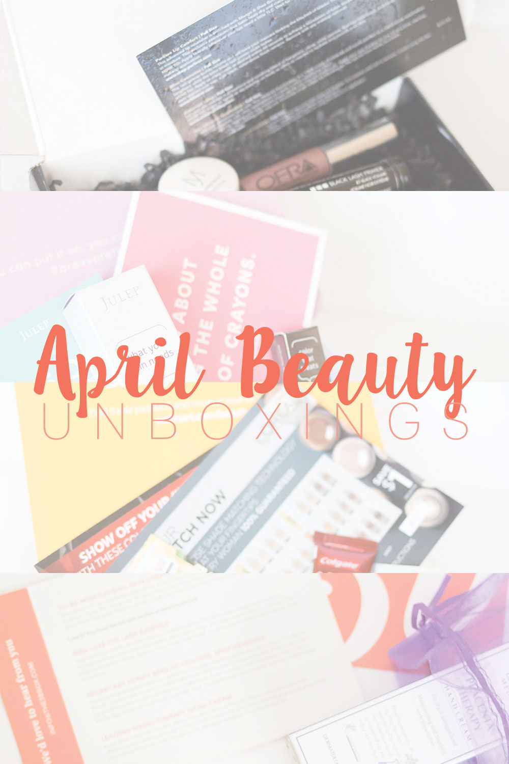 April Beauty Unboxings // Hello Rigby Seattle Beauty Blog