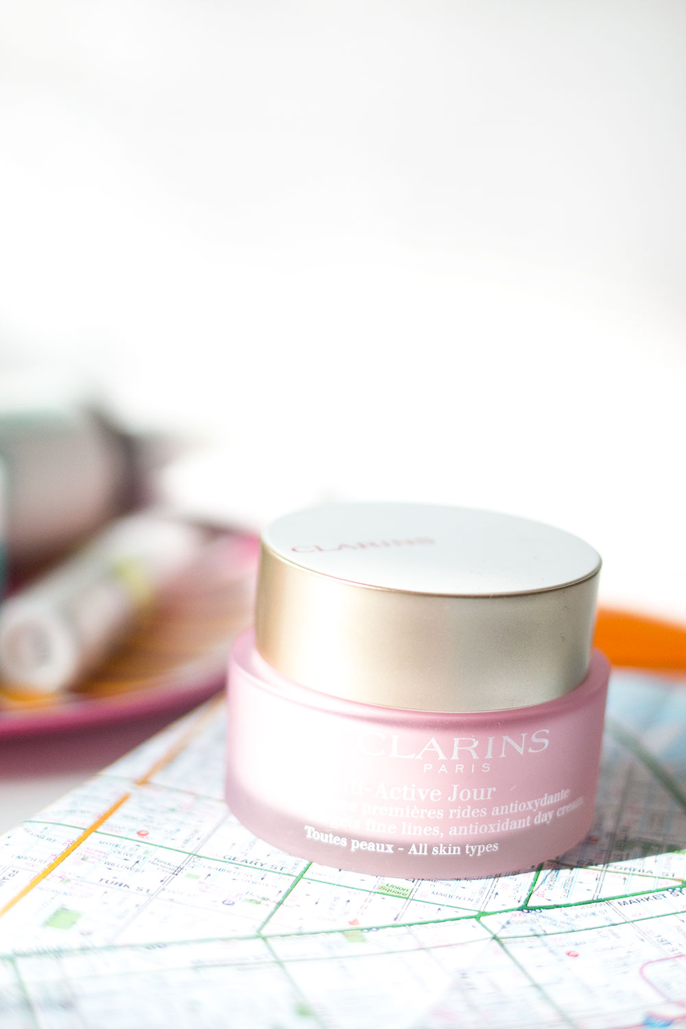 Clarins Multi Active Jour Day Cream Review // Hello Rigby Seattle Beauty Blog
