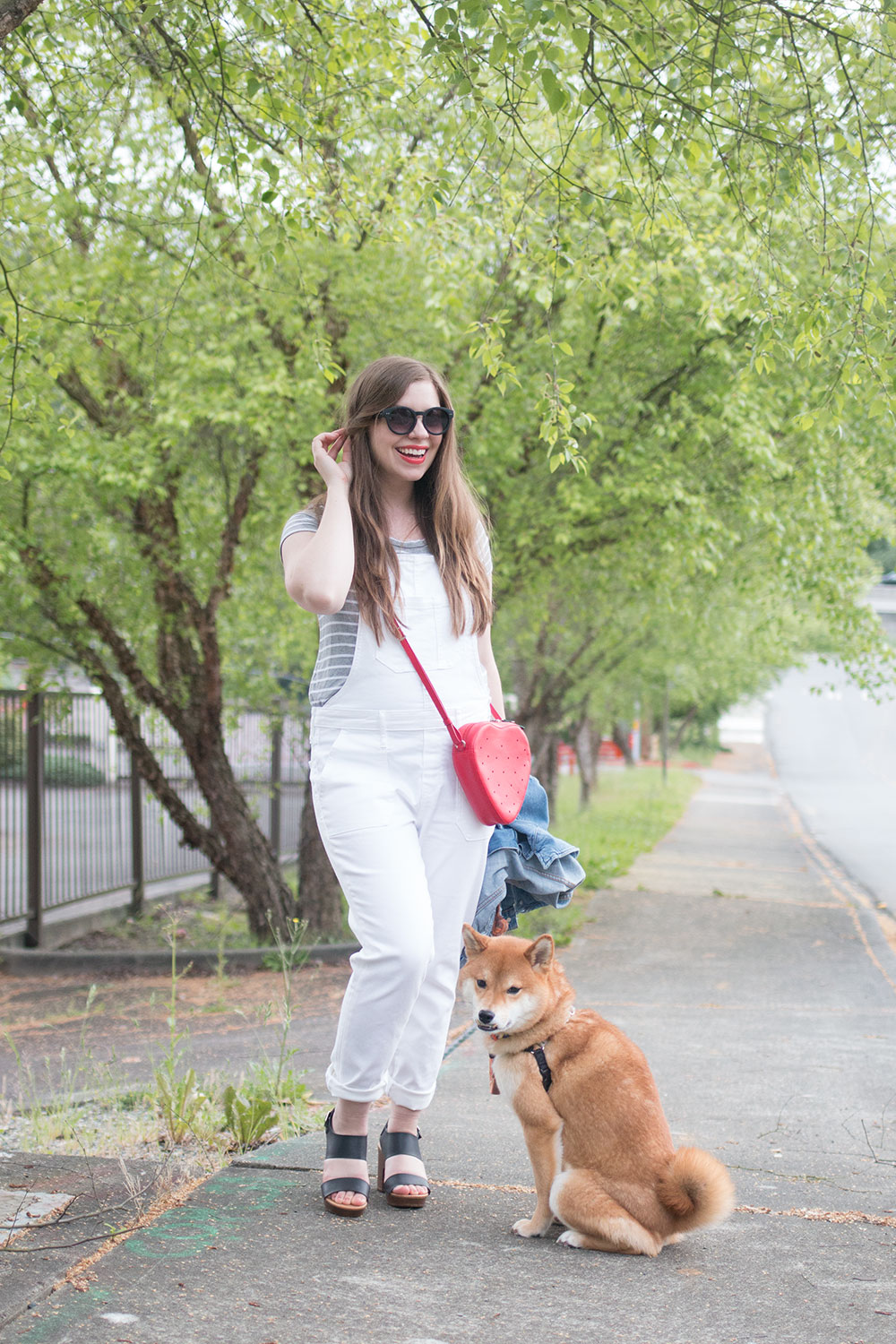 How to Wear Overalls with Denim Jacket // Hello Rigby Seattle Style & Fashion Blog