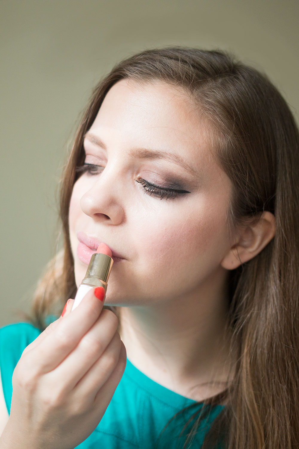 Jouer Cosmetics Review: Hydrating Lipstick in Olivia // Hello Rigby Seattle Beauty Blog