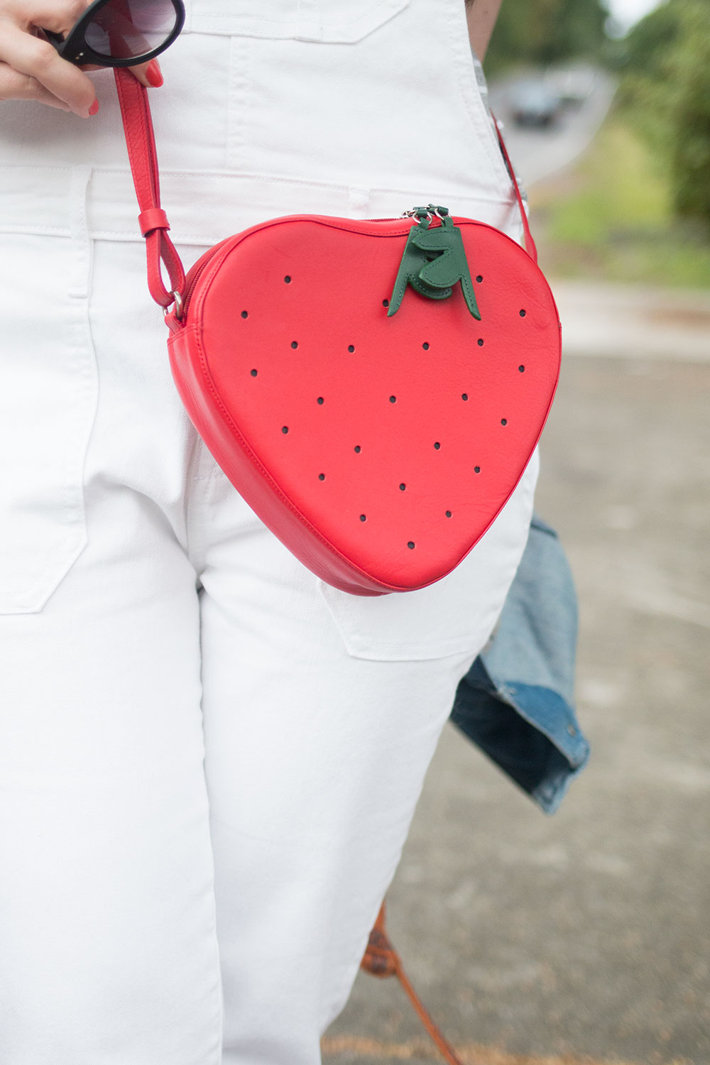 MyWalit Strawberry Bag Purse // Hello Rigby Seattle Fashion Blog
