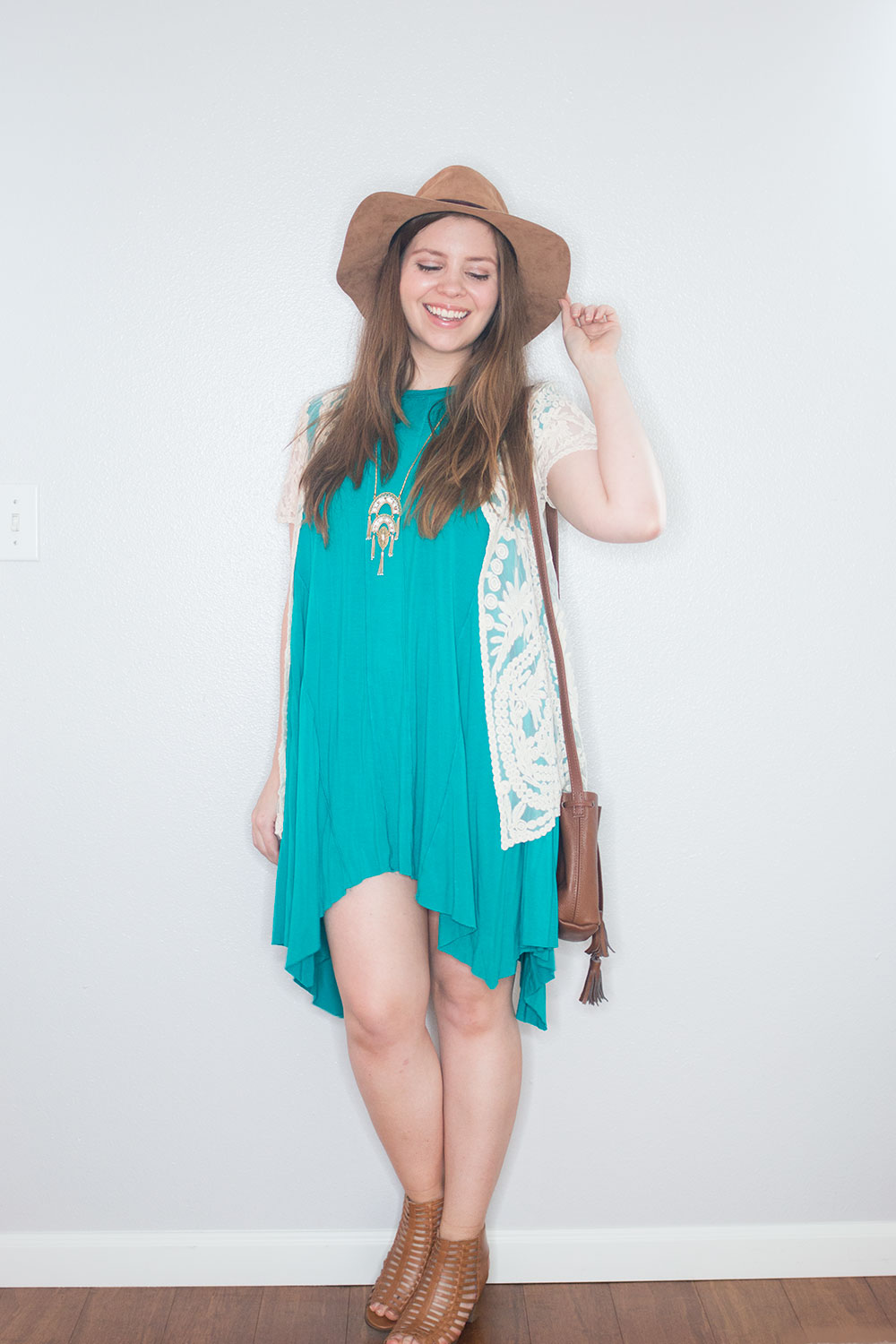 Stitch Fix May 2016: Pixley Ashton Crochet Lace Kimono // Hello Rigby Seattle Style Blog