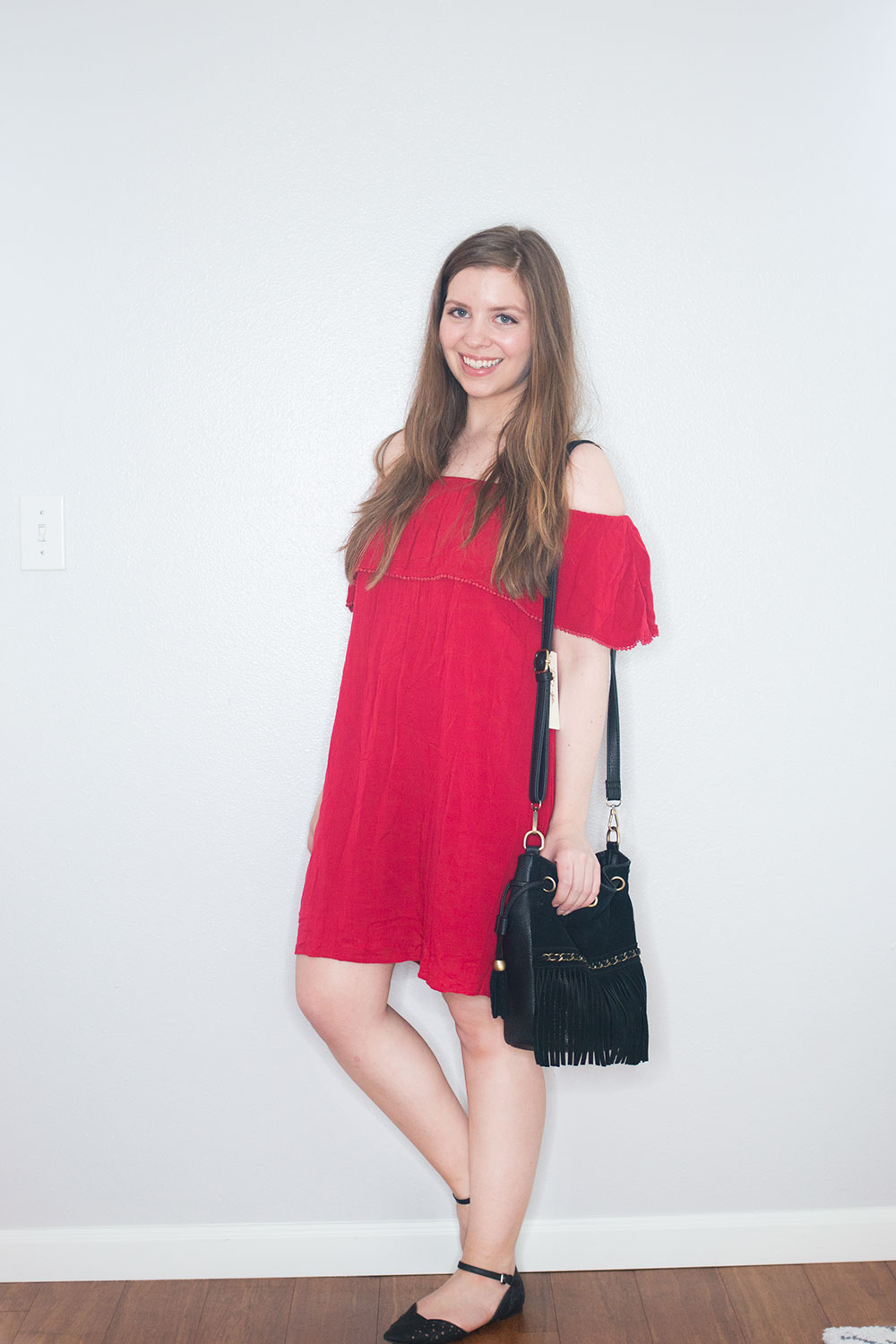 Stitch Fix May 2016: RD Style Vierra Off Shoulder Dress // Hello Rigby Seattle Fashion Blog