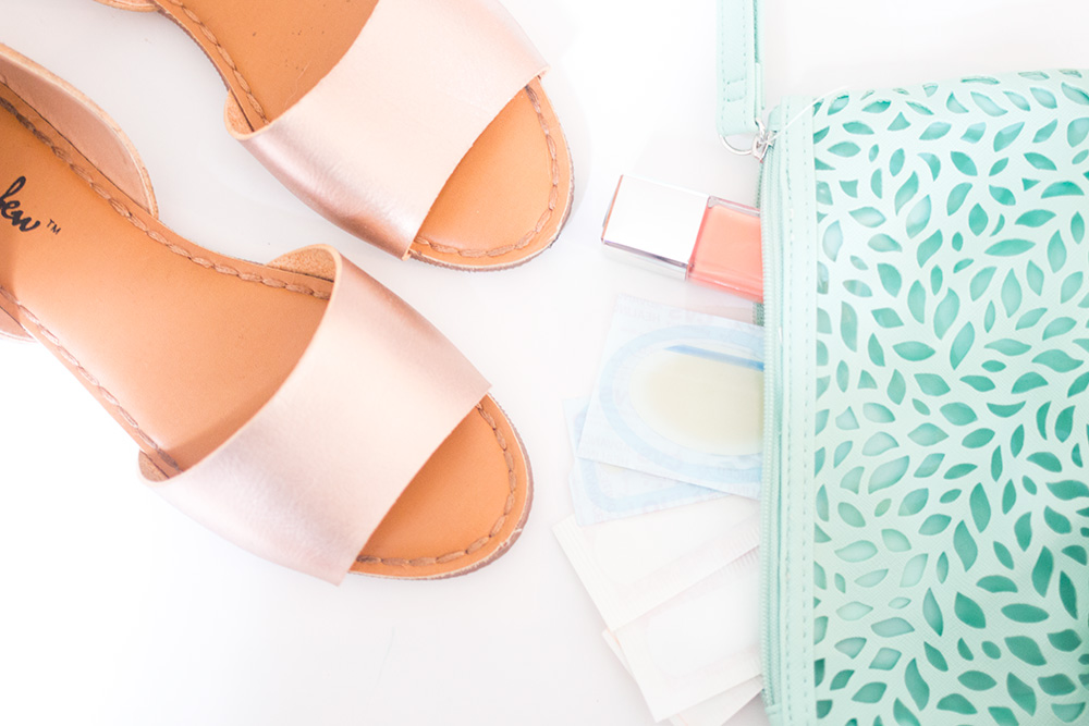 Foot Care Travel Essentials // Hello Rigby Seattle Beauty Blog