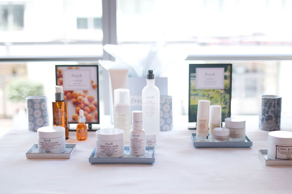 Fresh Skincare LIne at Four Seasons Seattle Tea Party // Hello Rigby Seattle Beauty & Event Blog
