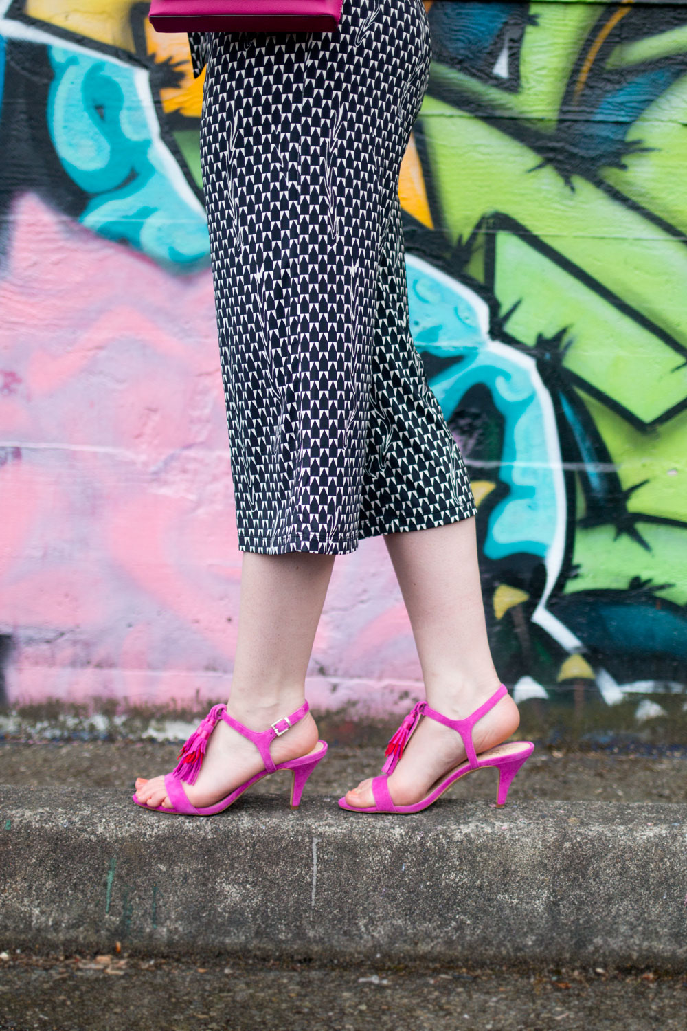 HSN Alice Through the Looking Glass Vince Camuto Melsy Sandals // Hello Rigby Seattle Fashion Blog