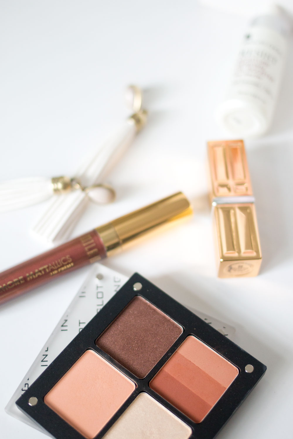 Spring Beauty Favorites: Inglot Freedom Eyeshadow Quad & Milani Mattalics // Hello Rigby Seattle Beauty Blog